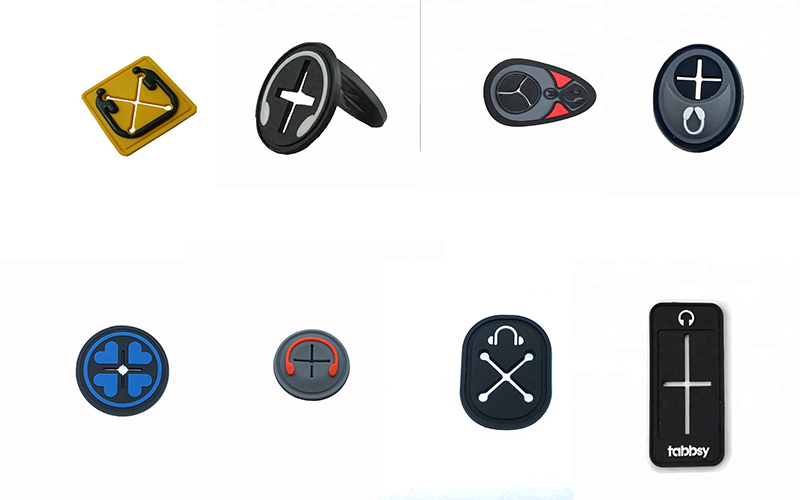 Earphone PvC Rubber Patches Supplier