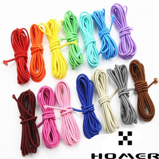annodate 2 m Cordino elastico marino corda elastica rossa da 4 mm